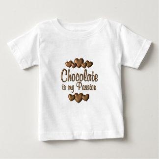 Chocolate is My Passioin Baby T-Shirt