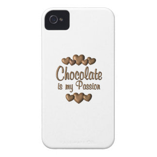 Chocolate is My Passioin iPhone 4 Case-Mate Case
