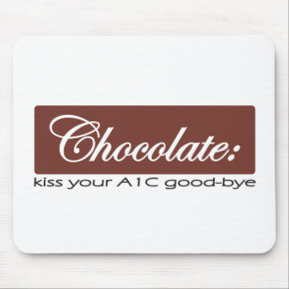 Chocolate: Kiss Your A1C Good-bye Mouse Pad