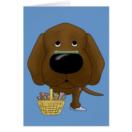 Chocolate Lab - Easter Bone Hunt, Anyone? Cards