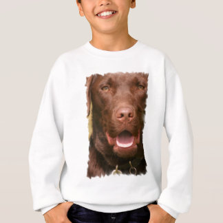 Chocolate Lab Kid's Sweatshirt