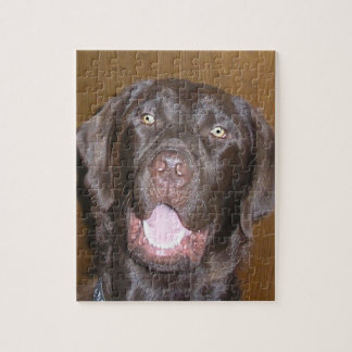 Chocolate Lab Puzzle