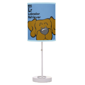 Chocolate Lab - The Dog Table Table Lamp