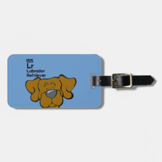 Chocolate Lab - The Dog Table Tag For Luggage