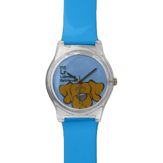 Chocolate Lab - The Dog Table Wristwatch