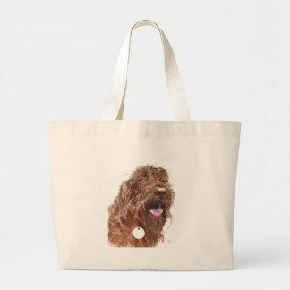 Chocolate Labradoodle #1 Bag