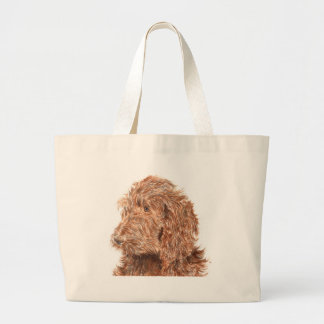 Chocolate Labradoodle #2 Bag