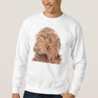 Chocolate Labradoodle #2 Sweatshirt