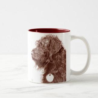 Chocolate Labradoodle Mug