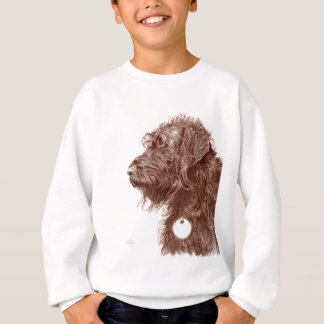 Chocolate Labradoodle Sweatshirt