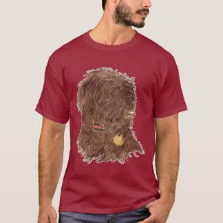 Chocolate Labradoodle Xena Kids T-shirt