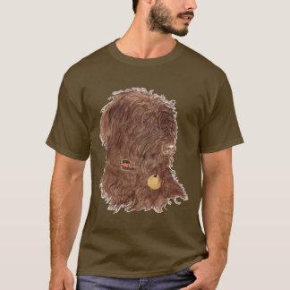 Chocolate Labradoodle Xena T-shirt