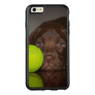 Chocolate Labrador Puppy With Tennis Ball OtterBox iPhone 6/6s Plus Case