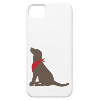 Chocolate labrador retriever iPhone 5 case