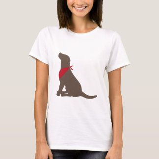 Chocolate Labrador Retriever T-Shirt