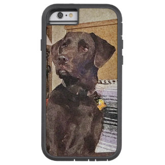 Chocolate Labrador Tough Xtreme iPhone 6 Case