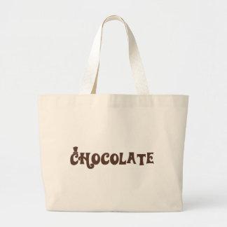 Chocolate Large Tote Bag