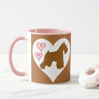 Chocolate (Liver) Schnauzer Coffee Mug