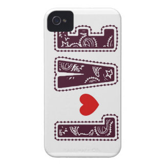 Chocolate Love Heart Blackberry Bold Case