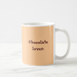 Chocolate lover mocha mugs