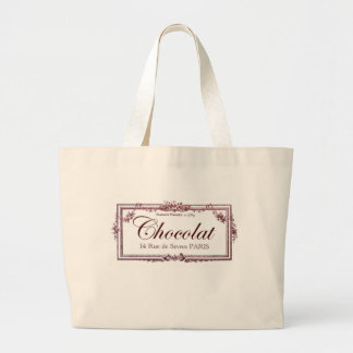 Chocolate lovers .... love this vintage French art Jumbo Tote Bag