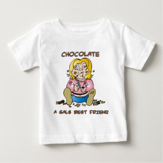 Chocolate Loving Gal Baby T-Shirt