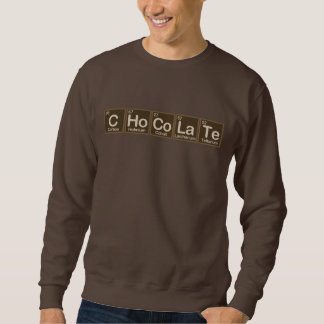 Chocolate Made of Elements Sweatshirt