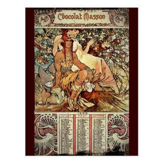 Chocolate Masson 1897 Postcard