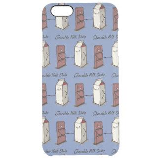 Chocolate milk shake clear iPhone 6 plus case