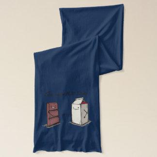 Chocolate milk shake scarf