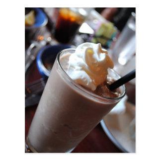 Chocolate Milkshake Post Card