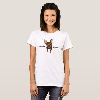 Chocolate Min Pin Miniature Pinscher T-shirt