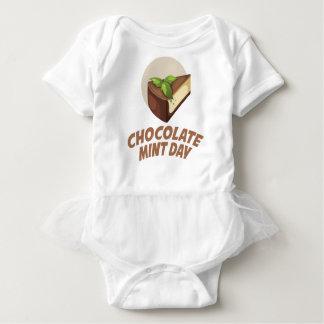 Chocolate Mint Day - Appreciation Day Baby Bodysuit