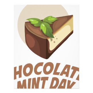 Chocolate Mint Day - Appreciation Day Custom Letterhead