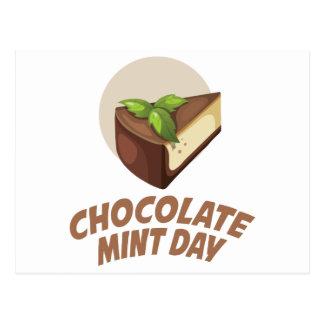 Chocolate Mint Day - Appreciation Day Postcard