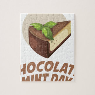 Chocolate Mint Day - Appreciation Day Puzzles