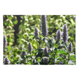 Chocolate Mint in the Summer Garden Placemat
