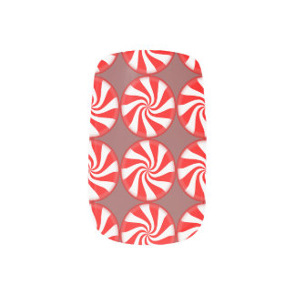 Chocolate Mint Nail Wraps
