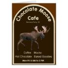 Chocolate Moose Cafe Card