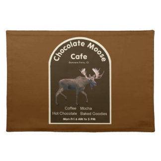 Chocolate Moose Cafe Place Mat