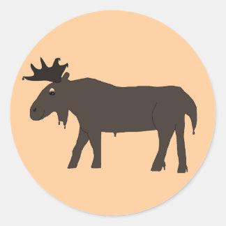 Chocolate Moose stickers