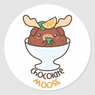 Chocolate Moose Stickers