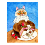 Chocolate Mouse Cake Post Cards