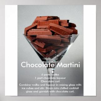 Chocolate Mrtini Poster