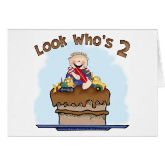 Chocolate Mud 2nd Birthday Invitation Card