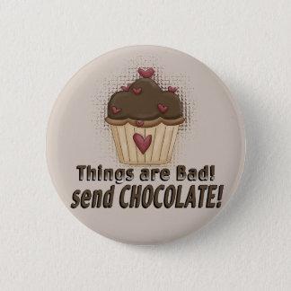Chocolate Muffin Button