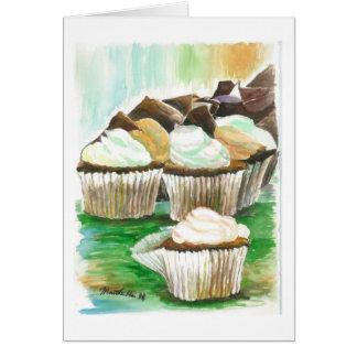 chocolate muffin card