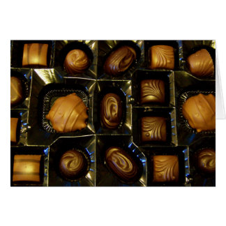 Chocolate Note Card or Greeting Card