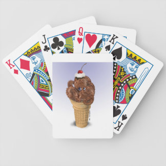 Chocolate Octopus Ice Cream Bicycle Playing Cards
