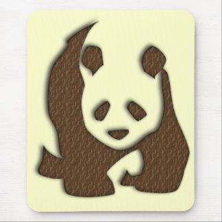 Chocolate Panda mousemat Mouse Pad